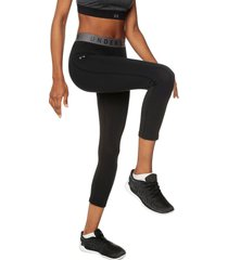 capri  negro under armour favorite crop-blk lg