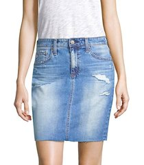 the erin denim skirt