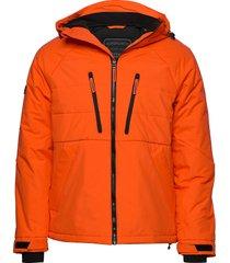 aeon padded jacket gevoerd jack oranje superdry