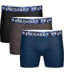 frank dandy 3 stuks solid boxer camo * gratis verzending *
