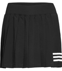 club tennis pleated skirt kort kjol svart adidas performance