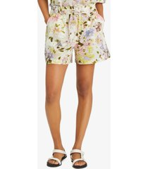 sanctuary on repeat floral print shorts