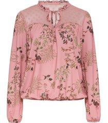 maglia a maniche lunghe con mesh (rosa) - bodyflirt