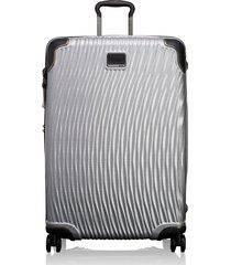 tumi latitude 30-inch extended trip rolling suitcase - metallic