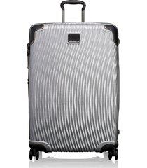 tumi latitude 30-inch extended trip rolling suitcase - metallic