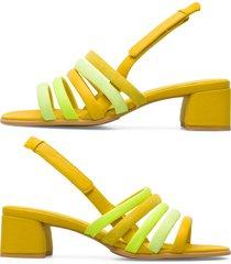 camper twins, sandali donna, giallo , misura 41 (eu), k201024-002