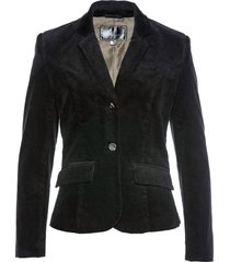 blazer in velluto (nero) - bpc selection
