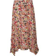 stella mccartney floral printed skirt