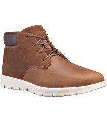 zapatilla  graydon leather chukka café timberland