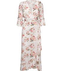 jasmin jurk knielengte roze line of oslo