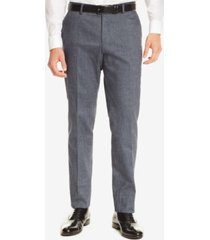 boss men's slim-fit dress pants