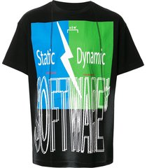 a-cold-wall* oversized software t-shirt - black