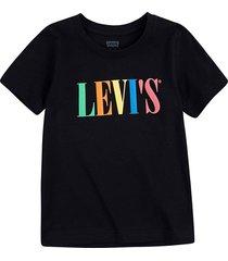 t-shirt relaxed graphic zwart