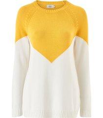 tröja onlsara l/s block pullover cc knt