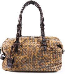 bottega veneta small montaigne intrecciato shoulder bag