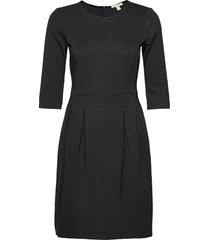 dresses woven knälång klänning grå esprit casual