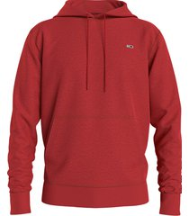 tommy hilfiger dm0dm09593 reg. fleece hoodie xnl deep crimson jeans