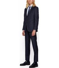 boss men's novan6/ben2 tw slim-fit suit
