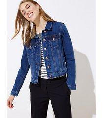 loft petite modern denim jacket