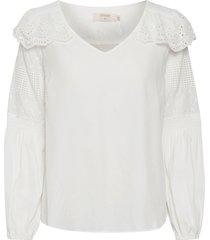 blus cremily blouse