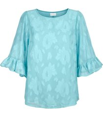 blouse amy vermont turquoise