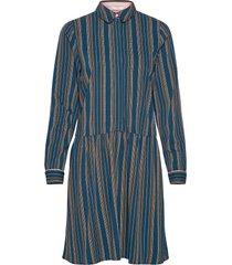 nubehati dress knälång klänning blå nümph