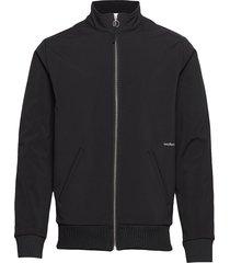 bibi track suit jacket tunn jacka svart soulland