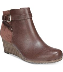 dr. scholl's double booties women's shoes