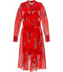 'leonie' mock neck dress
