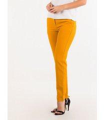 pantalones amarillo derek 818679