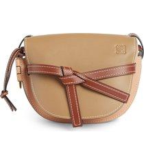 loewe gate small leather crossbody bag -
