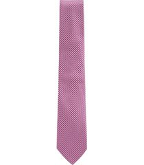 boss men's two-tone vichy check tie
