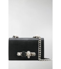 alexander mcqueen mini jeweled crossbody bag
