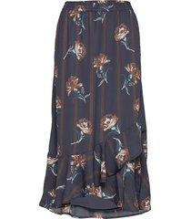 kaleandra skirt knälång kjol multi/mönstrad kaffe