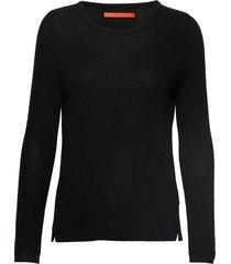 cashmere o-neck stickad tröja svart coster copenhagen