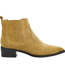 yohani suede ankle booties
