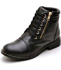 coturno clube do sapato de franca varsóvia preto