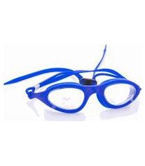 óculos natação azul escuro com translúcido nylon com silicone - squid .