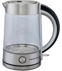 hamilton beach modern 1.7-l glass kettle