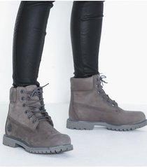 timberland af ek 6in prem flat boots grå