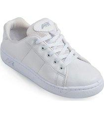 zapatos lineablanca aeroflex blanco unicolor ok1652