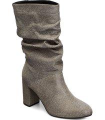 bfanica slouch boot höga stövlar grå bianco