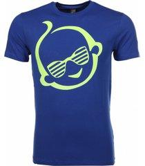 local fanatic t-shirt zsal blauw