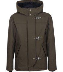fay three toggle lock large hood jacket
