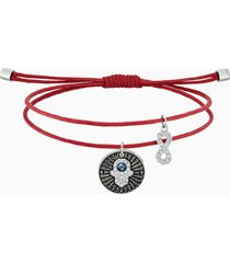 braccialetto unisex hamsa hand, multicolore, acciaio inossidabile