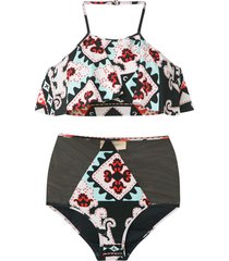 adriana degreas printed bikini set - 33