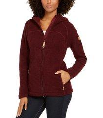 fjallraven kaitlum hooded fleece jacket