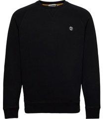 e-r basic regular crew sweat-shirt trui zwart timberland