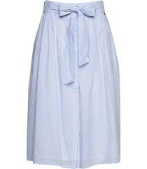 julie skirt rok knielengte blauw lexington clothing
