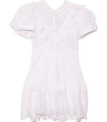 fritzi dress in antique white